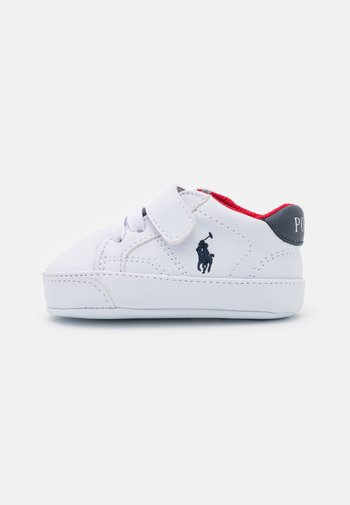 THERON PSLAYETTE - First shoes - white tumbled/navy