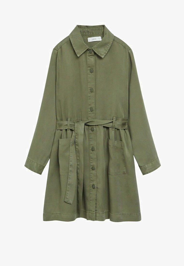 Mango - IVA - Robe chemise - kaki