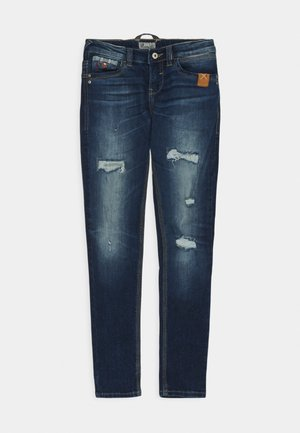 CAYLE - Jeans Slim Fit - tauri wash