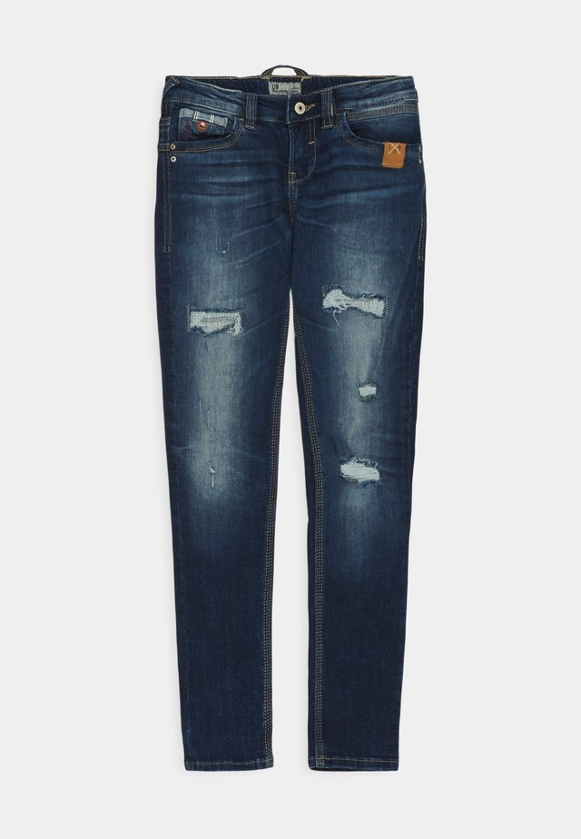 CAYLE - Slim fit jeans - tauri wash