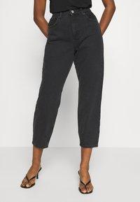 Miss Selfridge Petite - ARLO - Jeans Skinny Fit - black - 0
