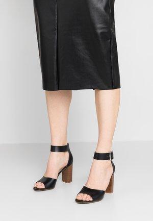 HARPER - Sandály na vysokém podpatku - black paris