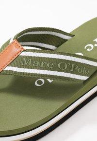 Marc O'Polo - DORA  - Sandály s odděleným palcem - khaki - 2