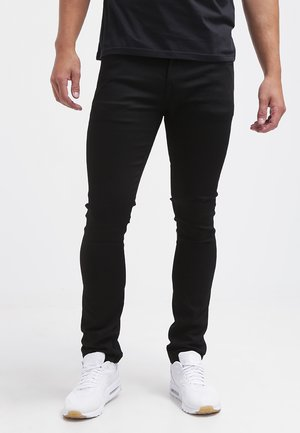 Jeans a sigaretta - black on black