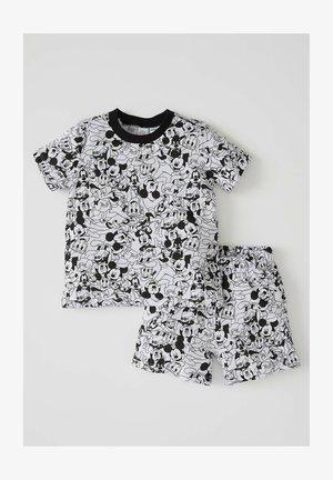 SET - Pigiama - black/white
