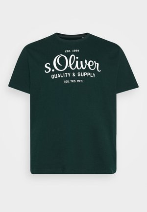 KURZARM - T-shirt print - dark green