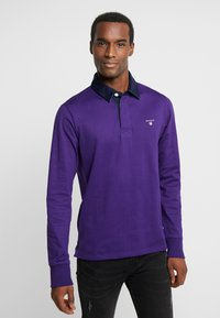 GANT - THE ORIGINAL HEAVY RUGGER - Polo shirt - parachute purple - 0