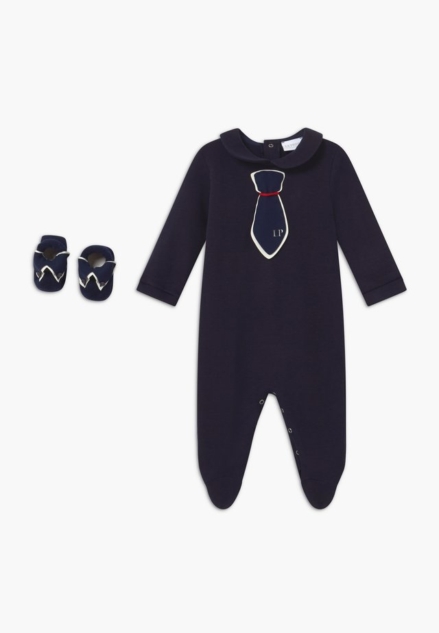 GIFT-BOX CRAVATTA SET - Regalo per nascita - blue navy