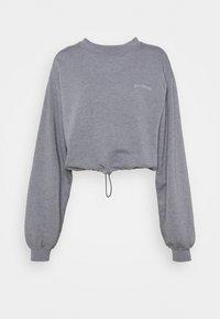 BDG Urban Outfitters - BUBBLE HEM - Sweatshirt - marlin blue - 3
