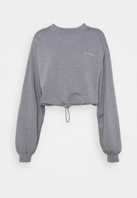 BUBBLE HEM - Sweatshirts - marlin blue