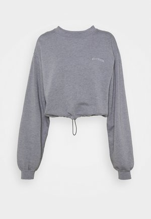BUBBLE HEM - Sweatshirt - marlin blue