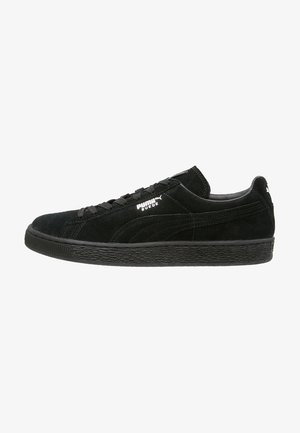 SUEDE CLASSIC+ - Trainers - black/dark shadow