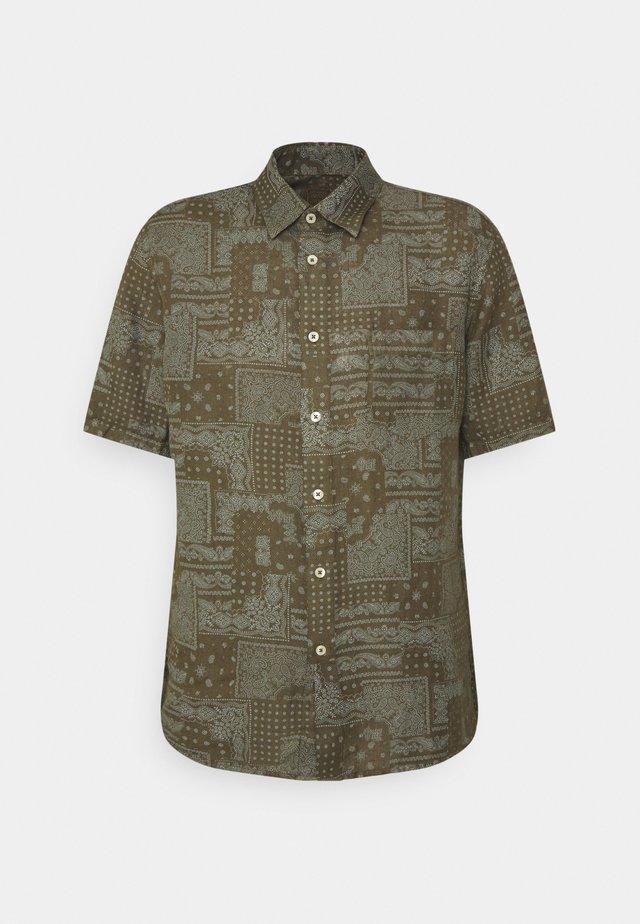SHORT SLEEVE REGULAR FIT - Overhemd - khaki