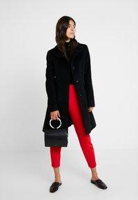 comma - COAT - Płaszcz wełniany /Płaszcz klasyczny - black - 1
