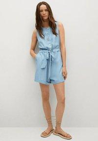 Mango - Jumpsuit - medium blue - 1