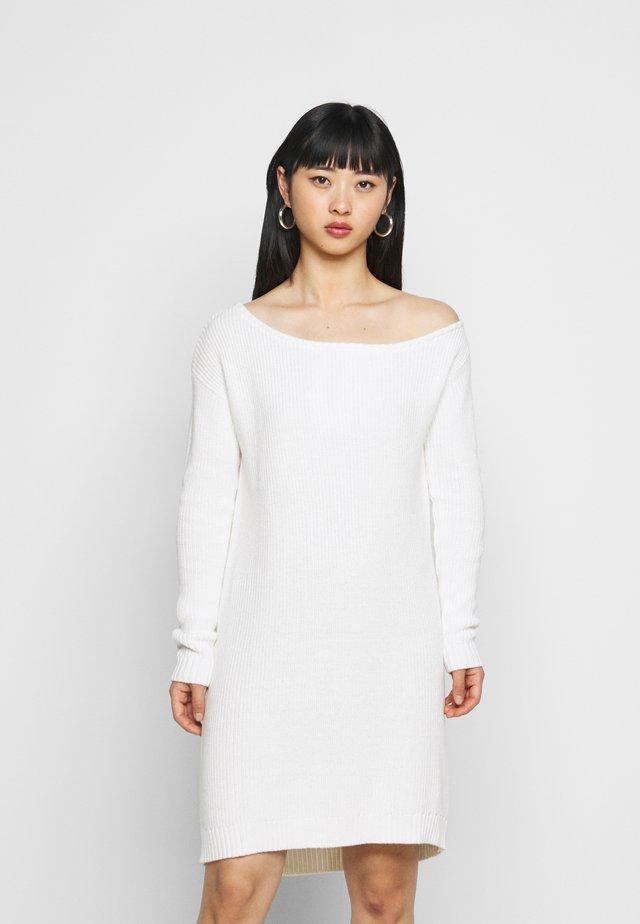 Abito in maglia - off white