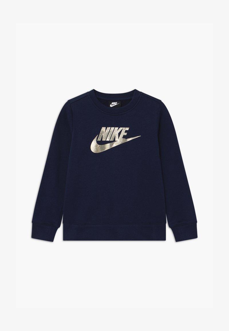Nike Sportswear - SHINE CREW - Mikina - obsidian