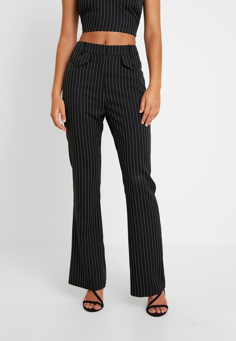 4th & Reckless - MARIANNA TROUSER - Kangashousut - black