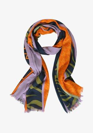 MIT PRINT - Sjaal - lila