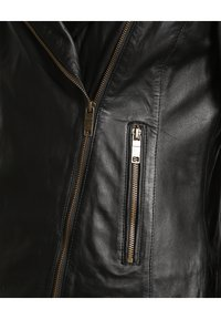 JCC - Leather jacket - black