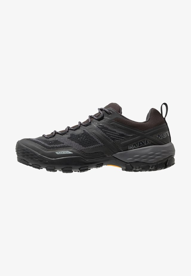 DUCAN - Scarpa da hiking - black/dark titanium