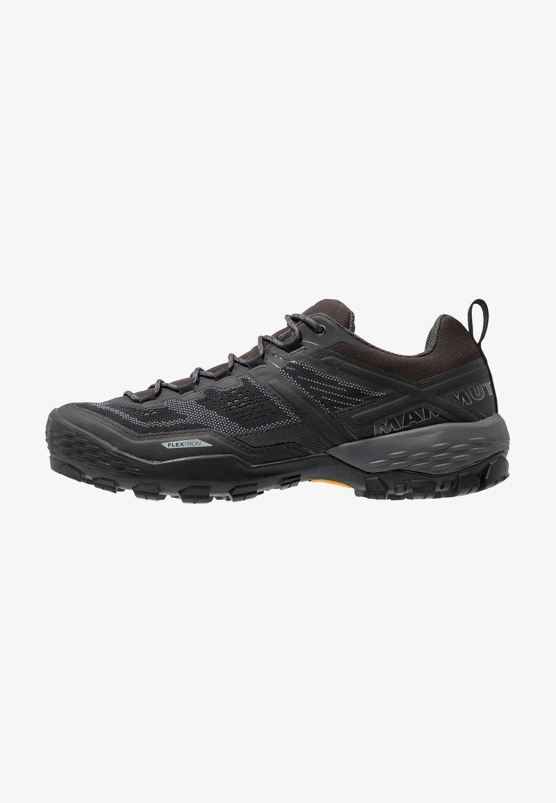 Mammut - DUCAN - Hiking shoes - black/dark titanium