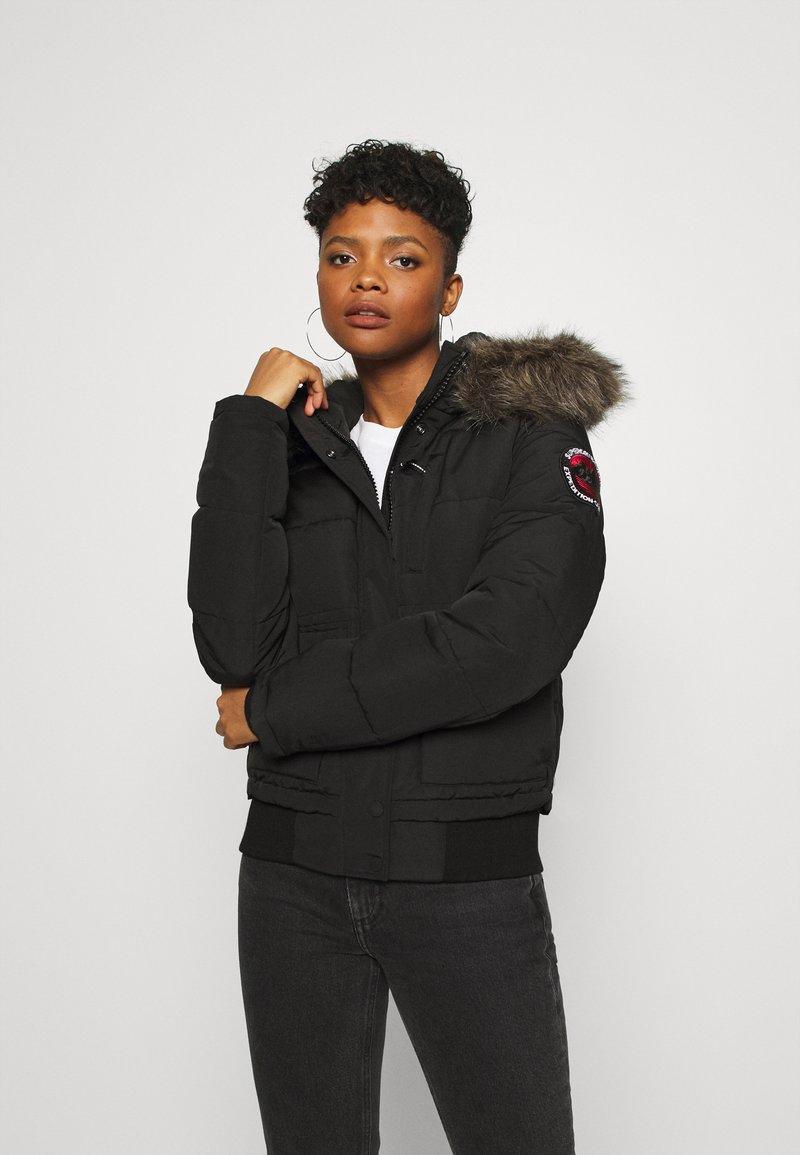 Superdry - EVEREST - Winter jacket - black