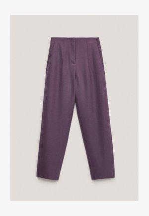 AUS REINER WOLLE  - Chino - dark purple