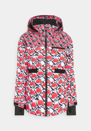 ROWLEY  - Snowboard jacket - bright white/red