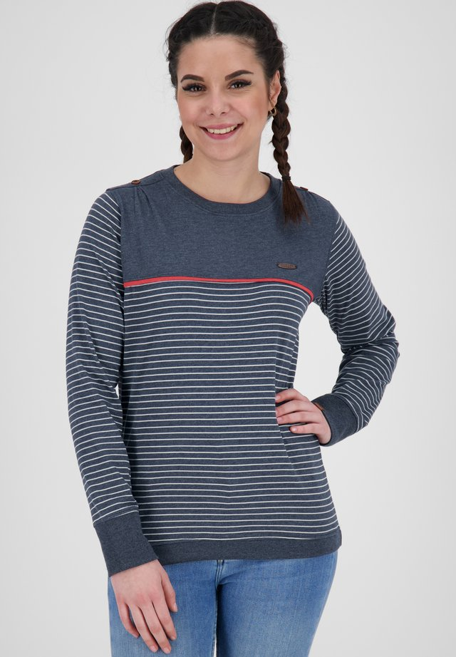 Long sleeved top - marine