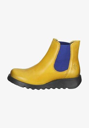 Botines bajos - mustard