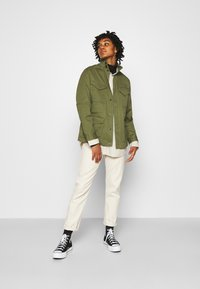 G-Star - FIELD OVERSHIRT WMN - Summer jacket - sage - 1
