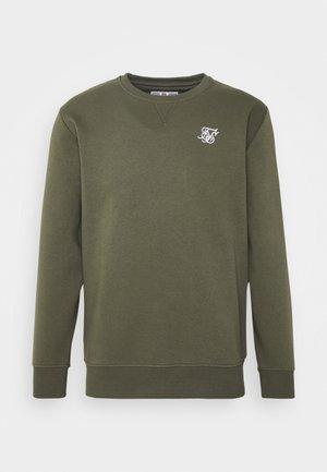 SIKSILK CREW - Sweatshirt - khaki