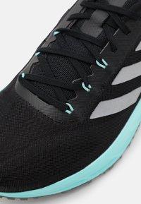adidas Performance - SL 20.2  - Neutrální běžecké boty - core black/silver metallic/clear aqua - 5