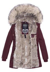 Navahoo - CRISTAL - Winter coat - burgundy - 4