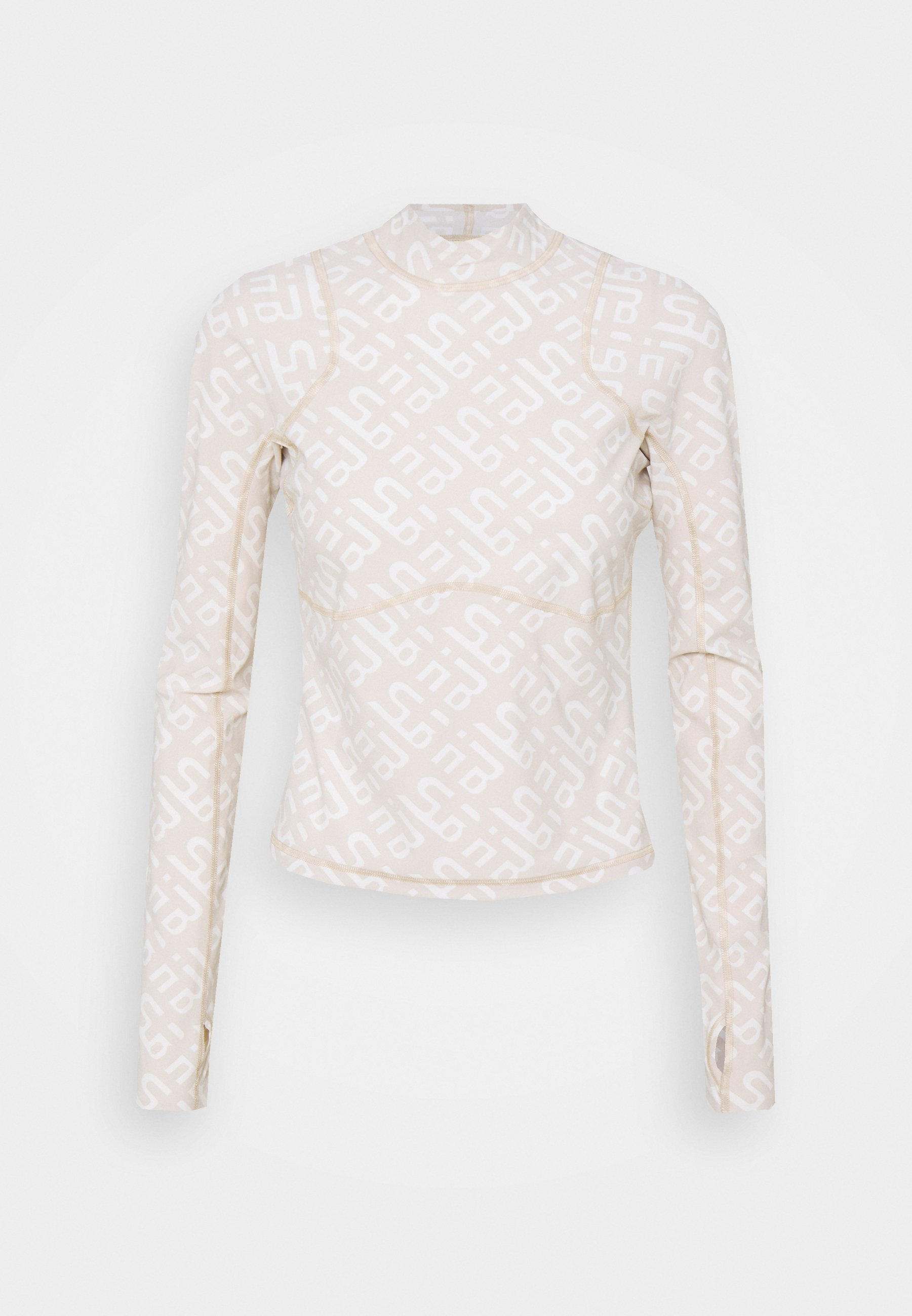 Women SWEATY BETTY X HALLE BERRY SOFIA TRAINING RASH GUARD - Sports shirt - white
