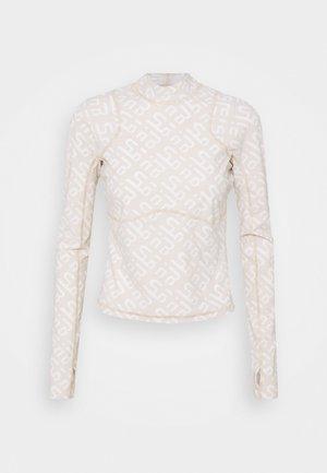 SWEATY BETTY X HALLE BERRY SOFIA TRAINING RASH GUARD - Sportshirt - white