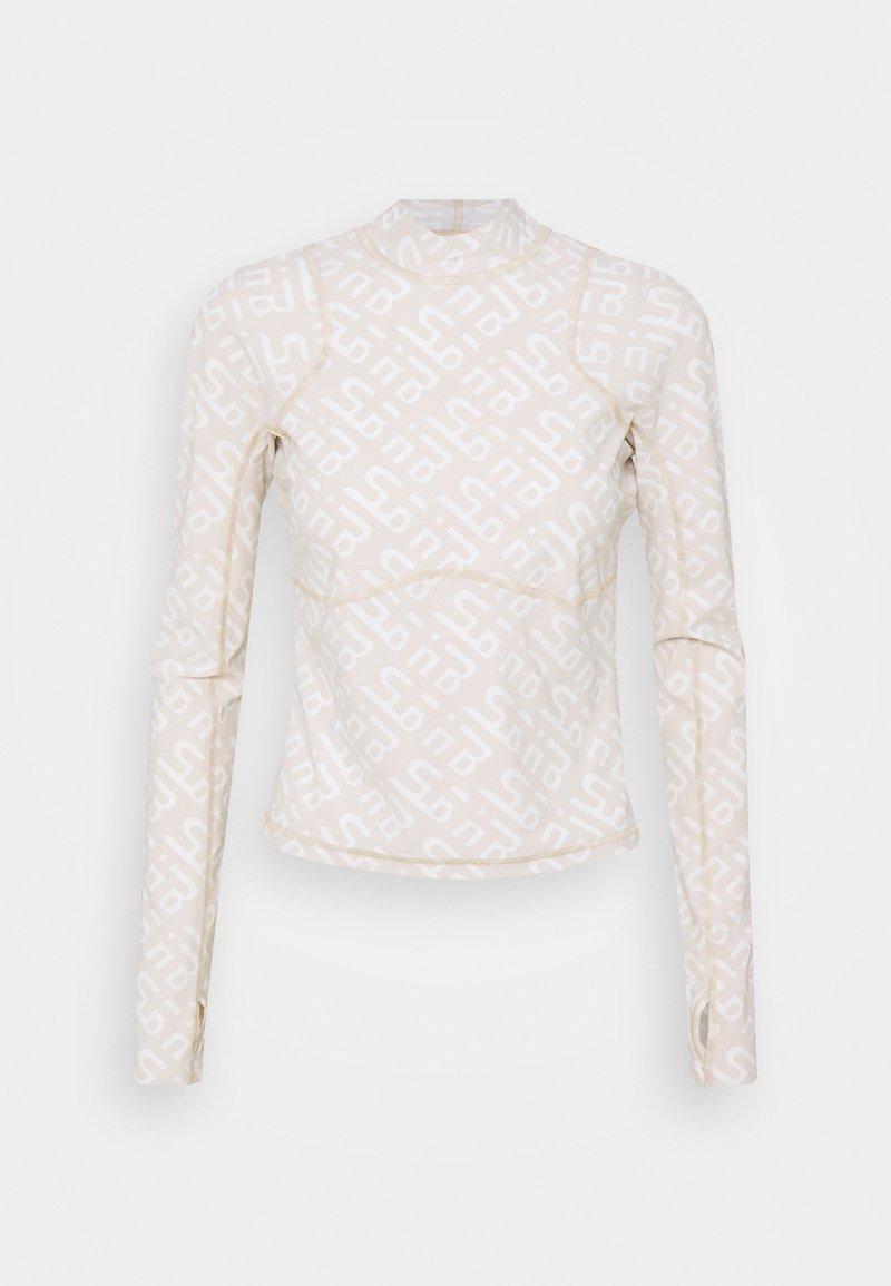 Sweaty Betty - SWEATY BETTY X HALLE BERRY SOFIA TRAINING RASH GUARD - Sports shirt - white
