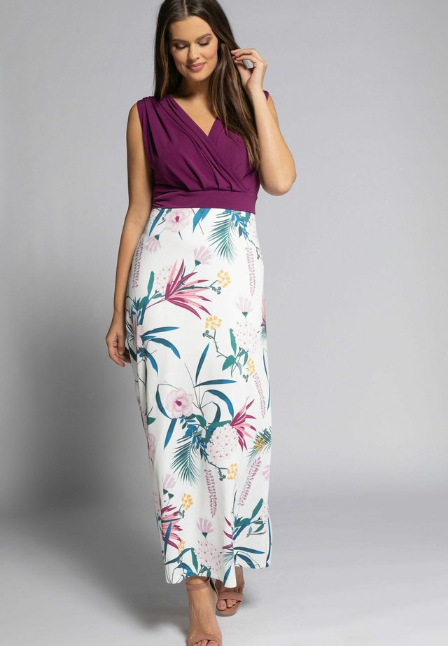 Maxi-jurk - magnolienrot