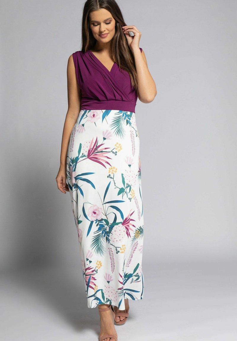 Ulla Popken - Maxi dress - magnolienrot