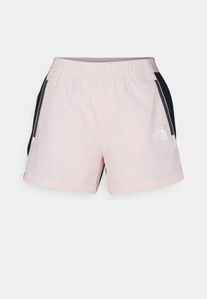 GLACIER SHORT - Träningsshorts - light pink/black
