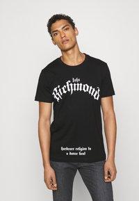 John Richmond - MCENROE - Print T-shirt - black - 0