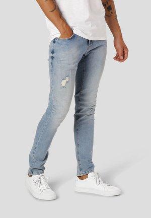 DAVID STRETCH  - Jeans Slim Fit - 3002 light blue denim