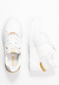 mtng - MELANIA - Sneakers basse - trenza blanco - 3