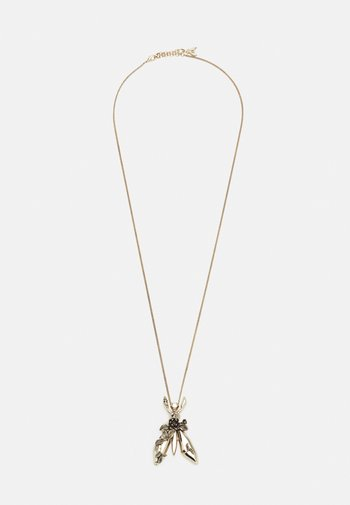ROCK FLY NECKLACE - Necklace - antique gold-coloured