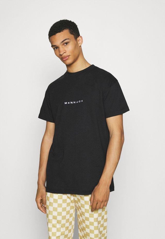 CLUB EST - T-shirt con stampa - black