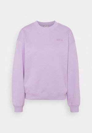 Sweatshirt - lilac purple dusty light