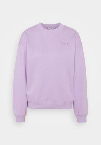 Felpa - lilac purple dusty light