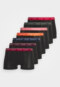 Calvin Klein Underwear - DAYS OF THE WEEK TRUNK 7 PACK - Pants - black - 4