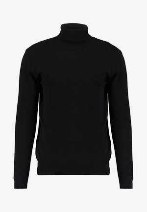 HUME - Strickpullover - black